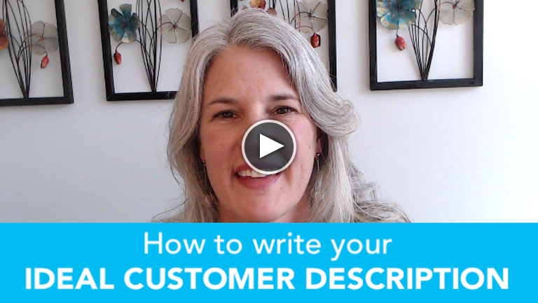 How to write an ideal customer description