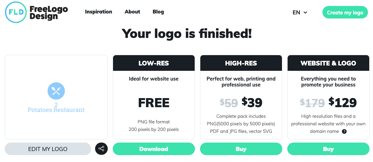 Can you get great design from an online logo maker