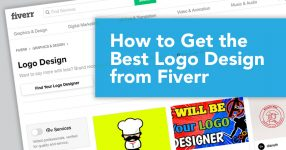 Title graphic: How to get the best logo design from Fiverr
