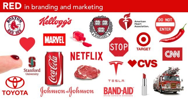 Best red color logos