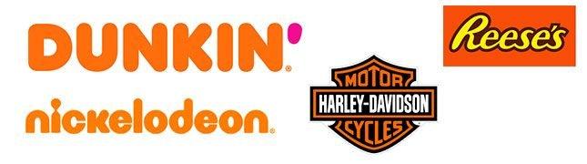 best orange logos