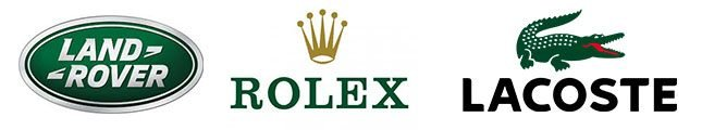 Green color theory luxury logos
