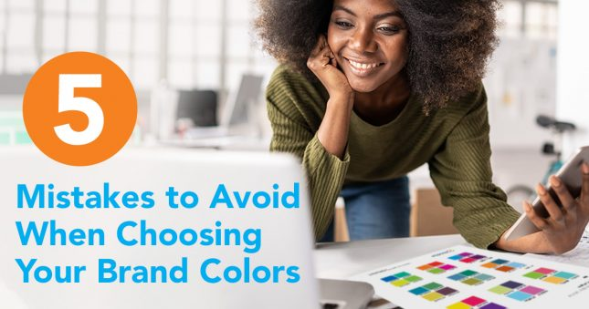 5 mistakes to avoid when choosing brand colors