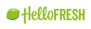 Modern script logo design: Hello Fresh